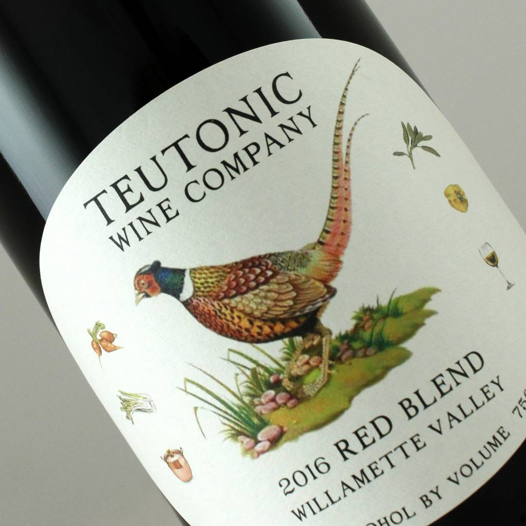 Teutonic 2018 Red Blend, Willamette Valley