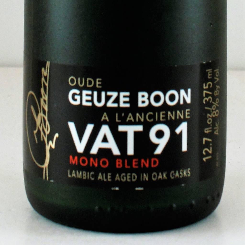 """Boon Vat Geuze """"Vat 91"""", Belgium - 375ml"""
