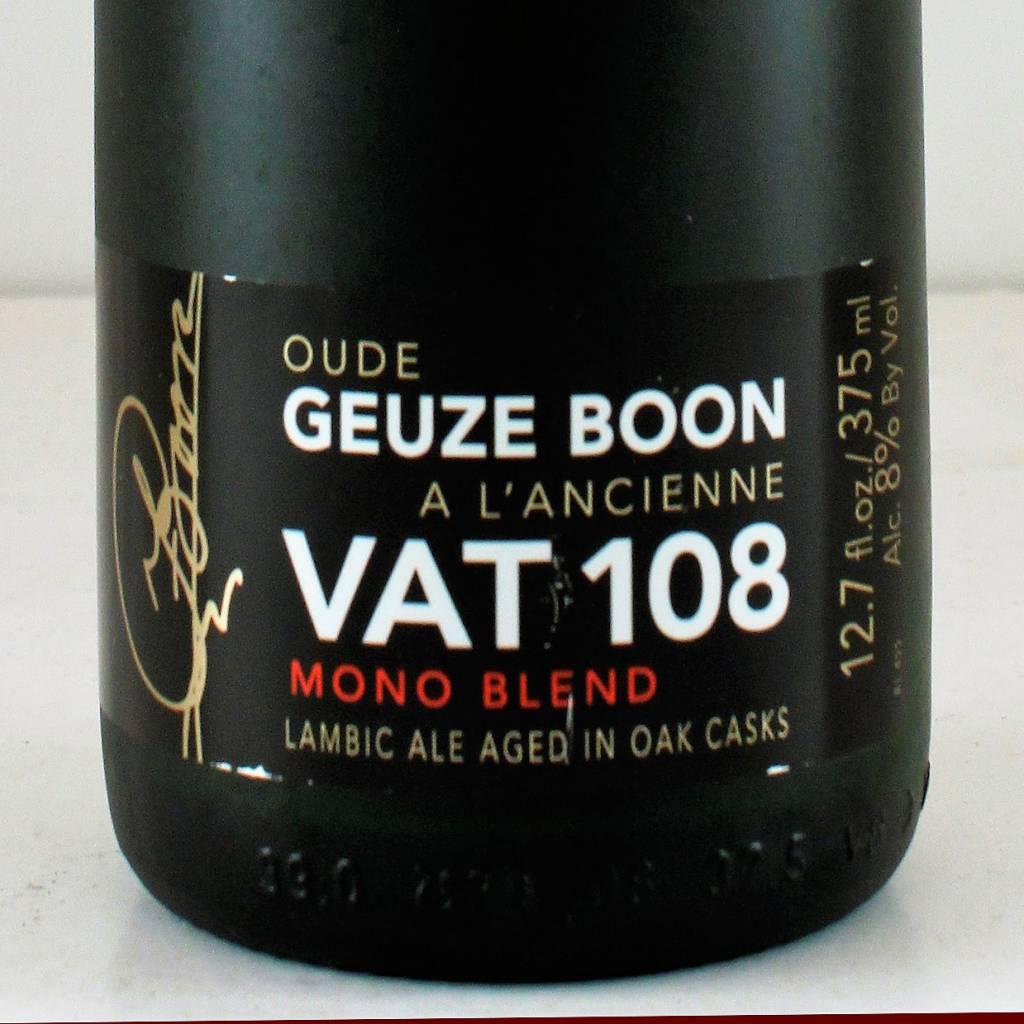 """Boon Vat Geuze """"Vat 108"""", Belgium - 375ml"""
