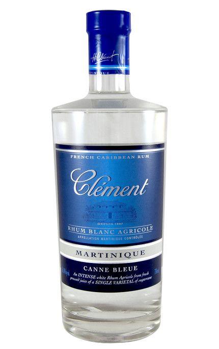 Rhum Clement Blanc Canne Bleue, Martinique