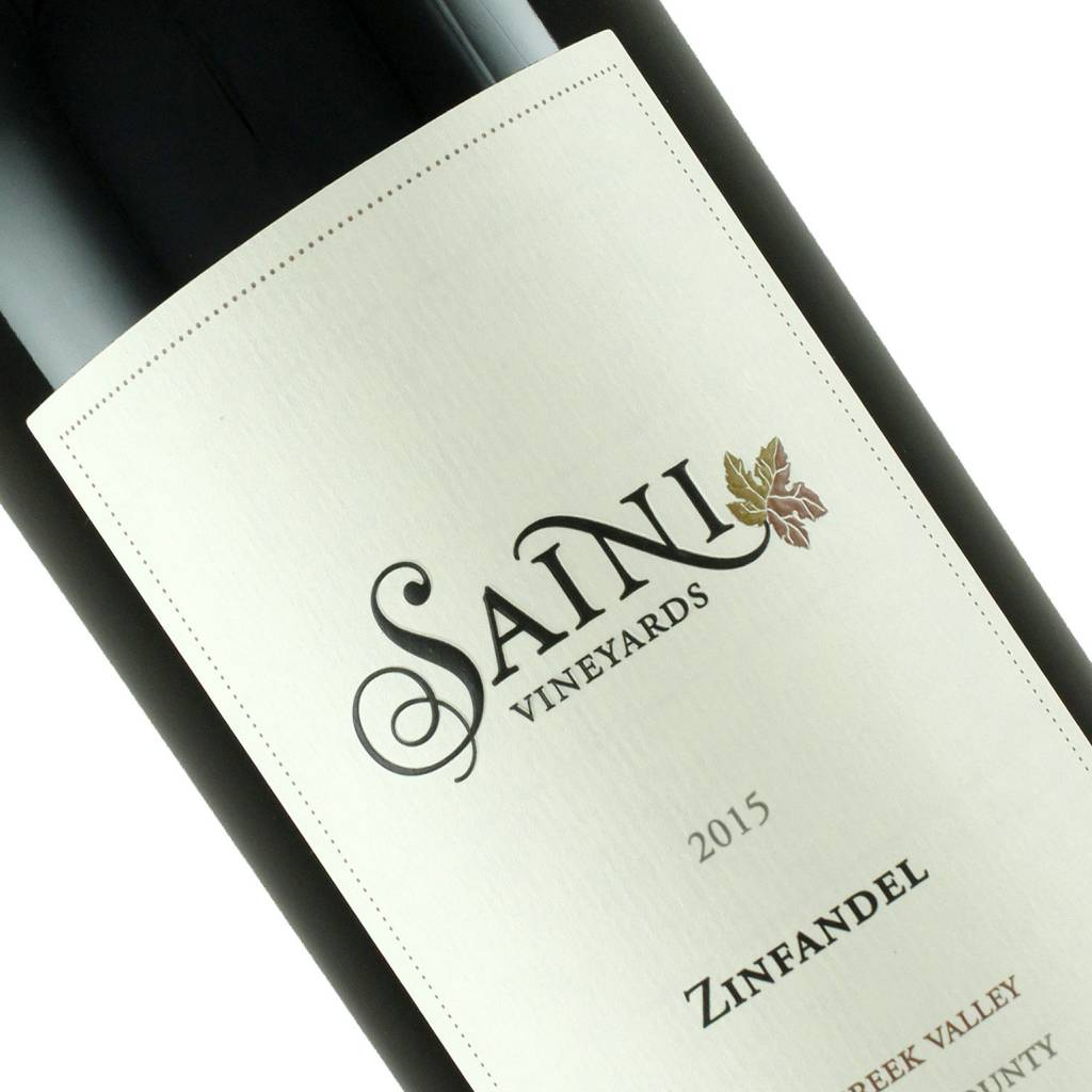 Saini Vineyards 2016 Zinfandel Dry Creek Valley, Sonoma County