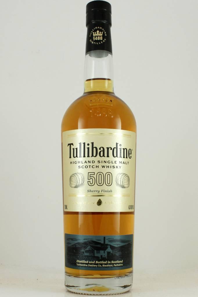 Tullibardine 500 Highland Single Malt Scotch Whisky Sherry Finish