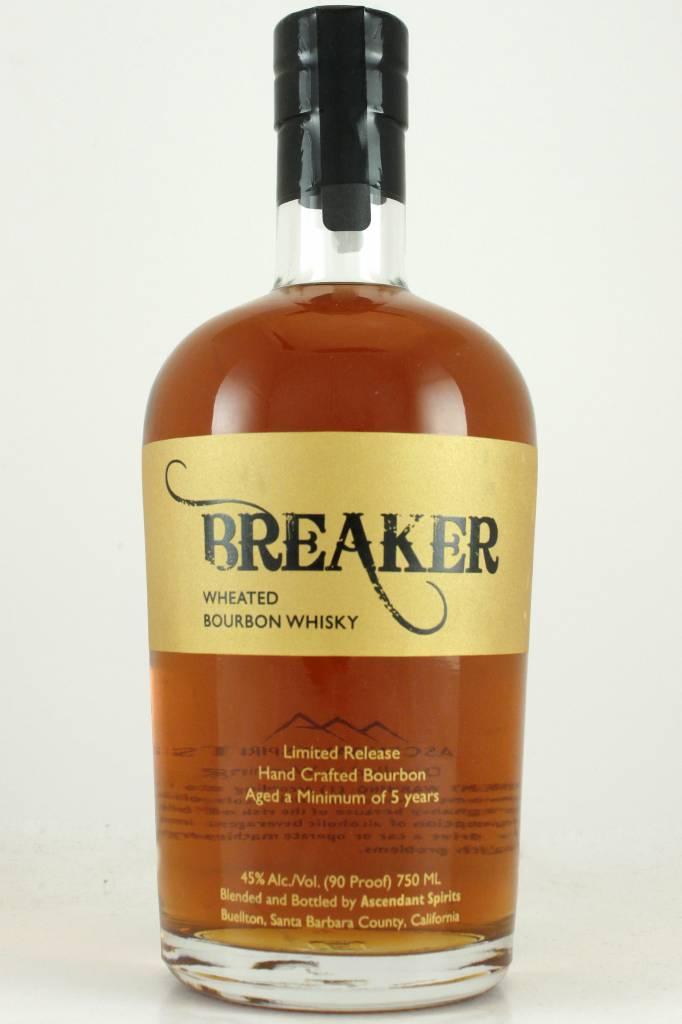 Breaker Wheated Bourbon Whisky, Buellton, California