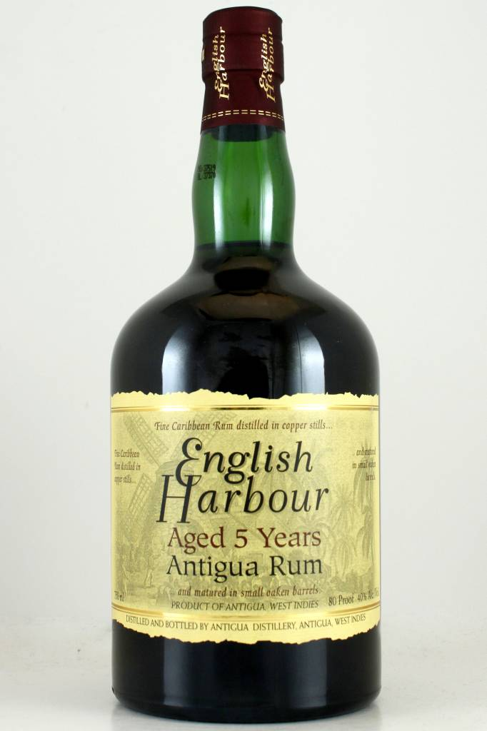 English Harbour Atiiqua Rum Aged 5 Years