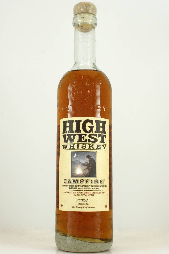 "High West Whiskey ""Campfire"" Bourbon Rye Blend, Park City, Utah"