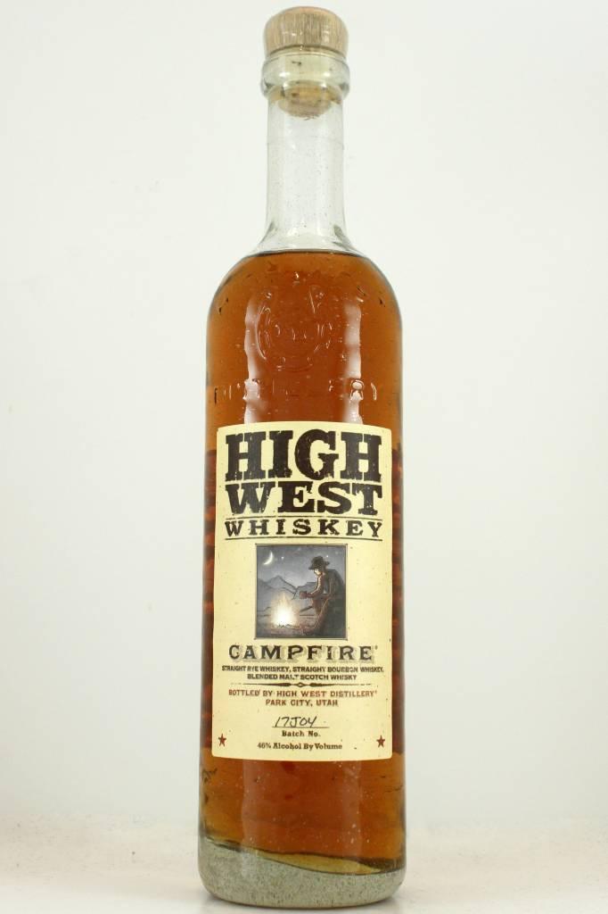 "High West Whiskey ""Campfire"" Bourbon Rye Blend, Utah"