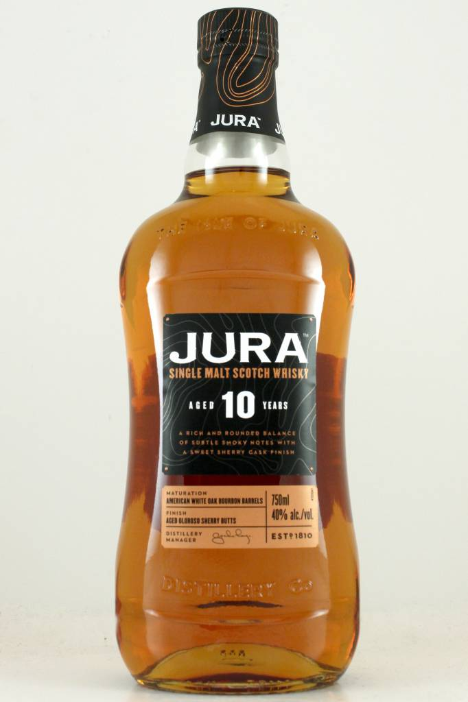 Jura Single Malt Scotch Whisky Aged 10 Years