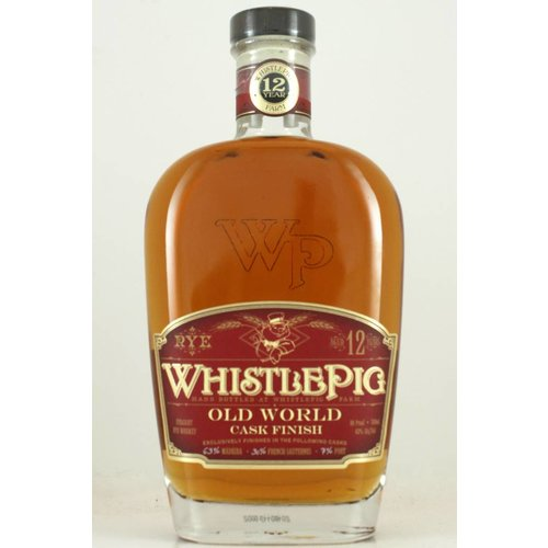 WhistlePig Straight Rye Whiskey Aged 12 Years, Vermont