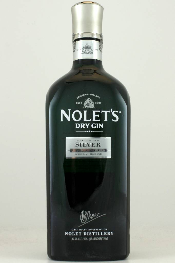 Nolet's Silver Dry Gin, Holland