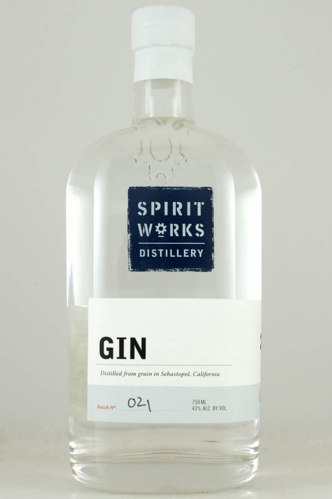 Spirit Works Distillery Gin, California