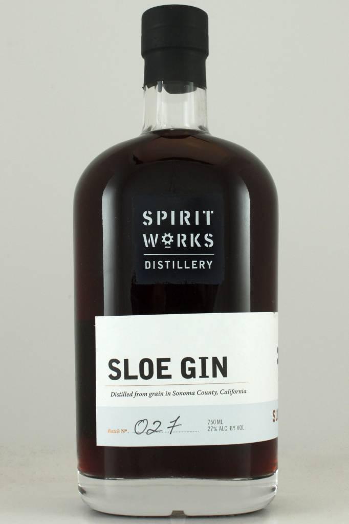 Spirit Works Distillery Sloe Gin, California