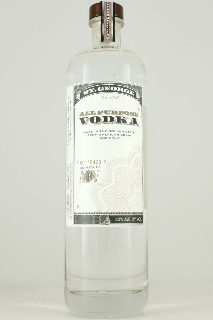 St. George All Purpose Vodka