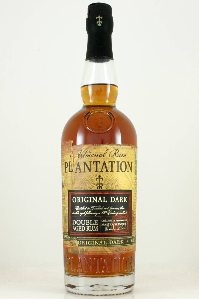 Plantation Artisanal Rum Original Dark Double Aged - The ...