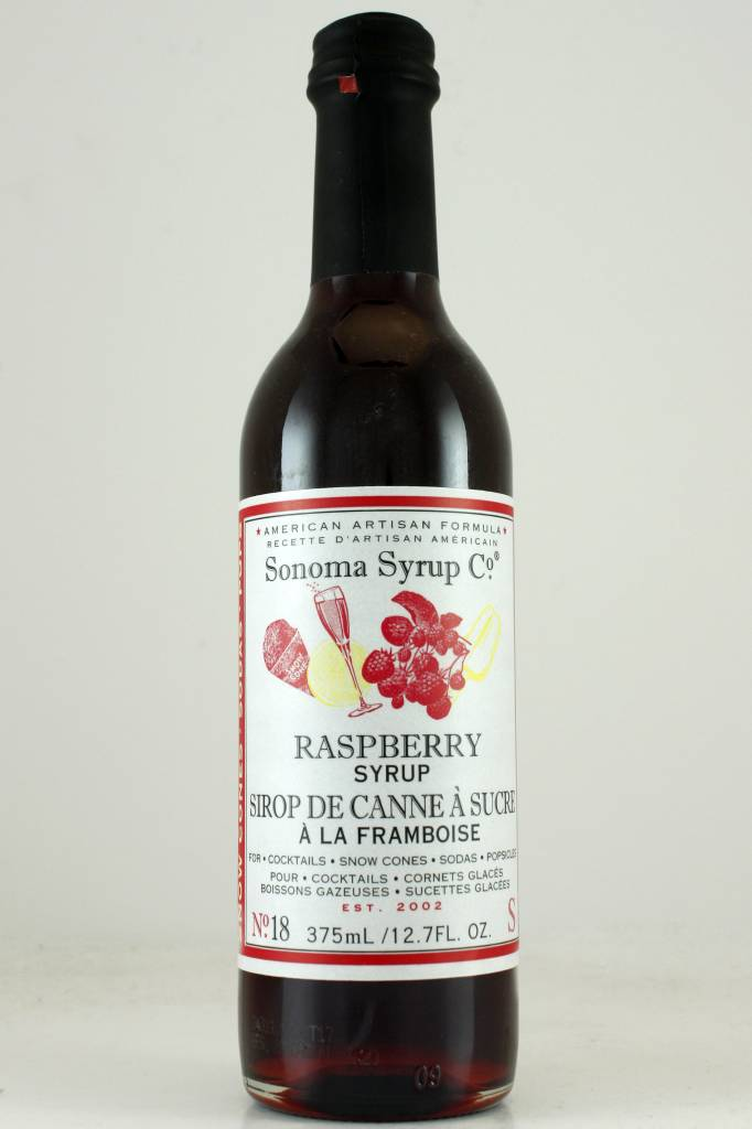 Sonoma Syrup Co. Raspberry Syrup 375ml.