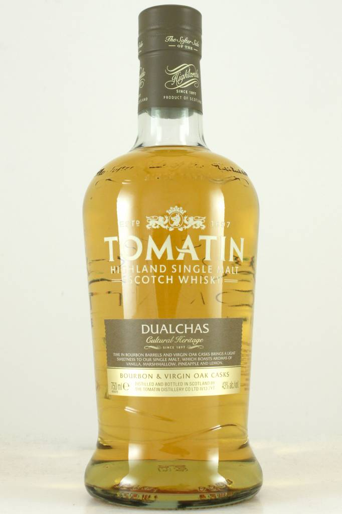 "Tomatin ""Dualchas"" Highland Single Malt Scotch Whisky"