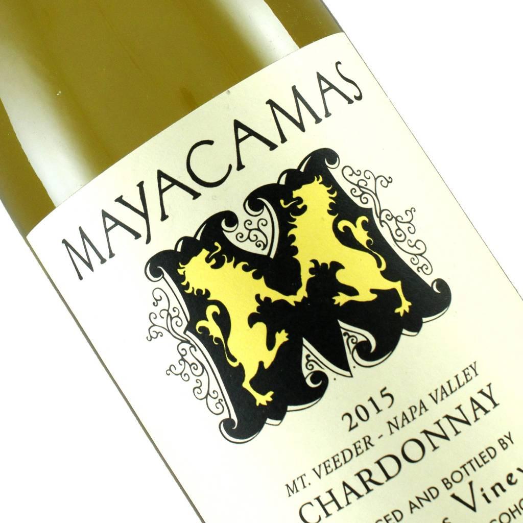 Mayacamas 2015 Chardonnay Mt. Veeder, Napa Valley, California
