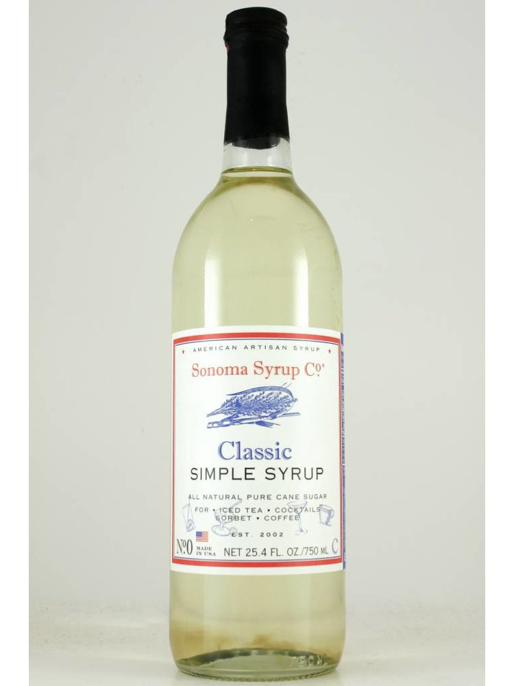 Sonoma Syrup Co. Classic Simple Syrup 750 ml