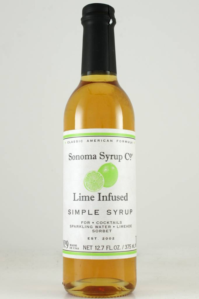 Sonoma Syrup Co. Lime infused Simple Syrup