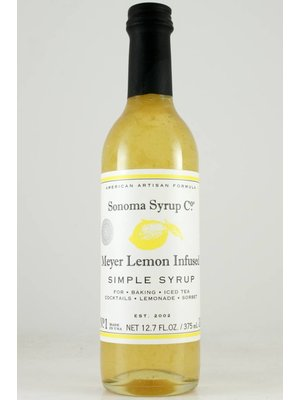 Sonoma Syrup Co. Meyer Lemon  Simple Syrup 375ml.
