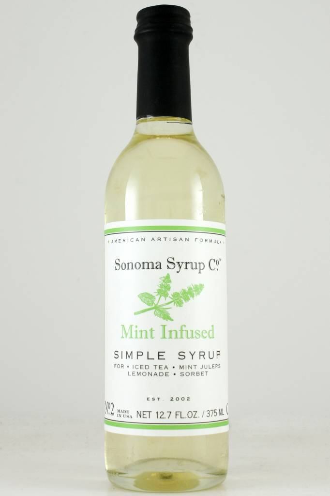 Sonoma Syrup Co. Mint Simple Syrup 12.7 oz.