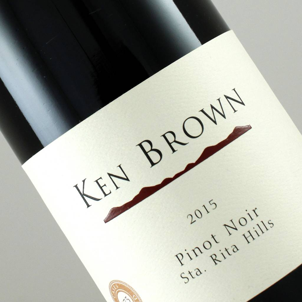 Ken Brown 2015 Pinot Noir Santa Rita Hills