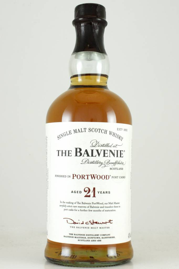 The Balvenie Single Malt Scotch Whisky Aged 21 Years Portwood