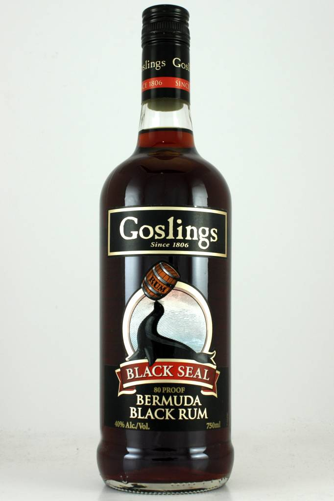 Goslings Black Seal Bermuda Black Rum