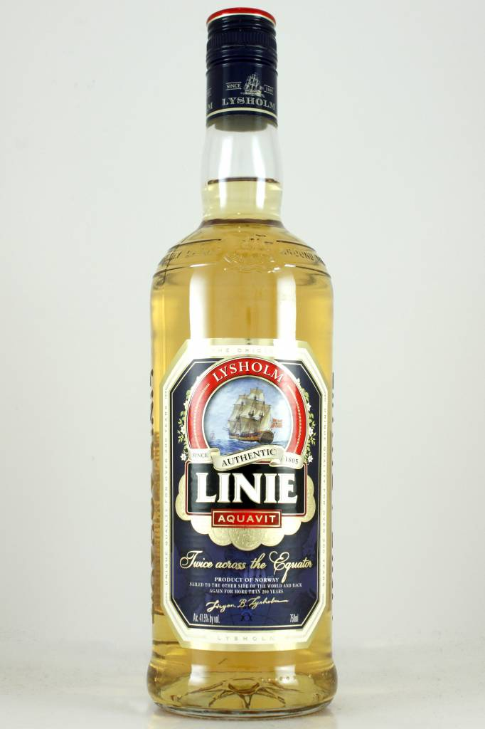 Linie Aquavit, Norway