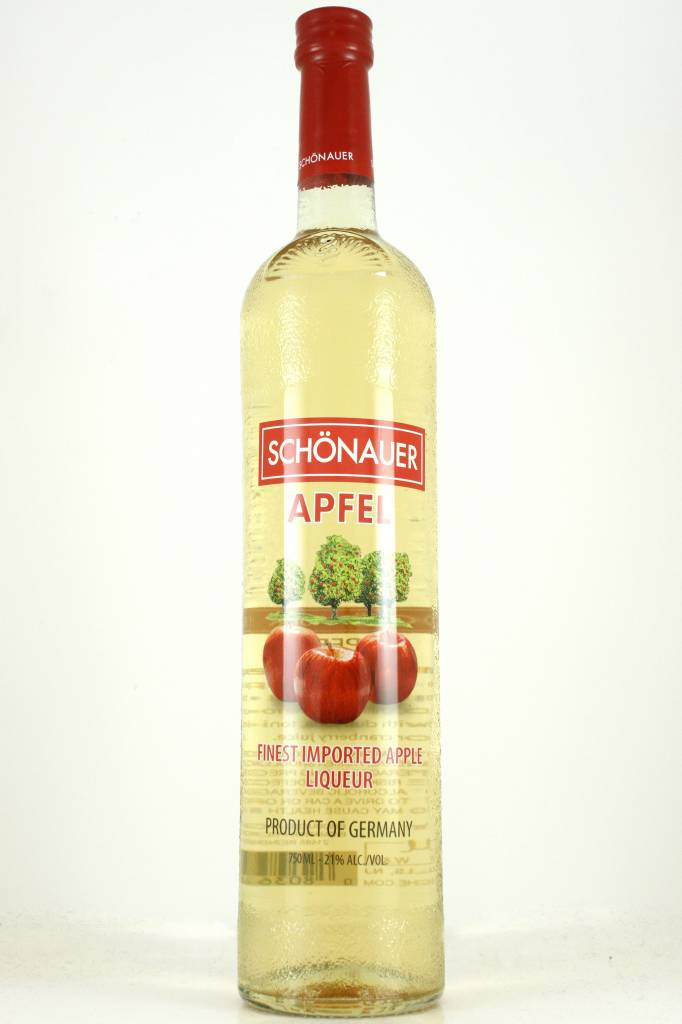 Schonauer Apfel Apple Schnapps Liqueur