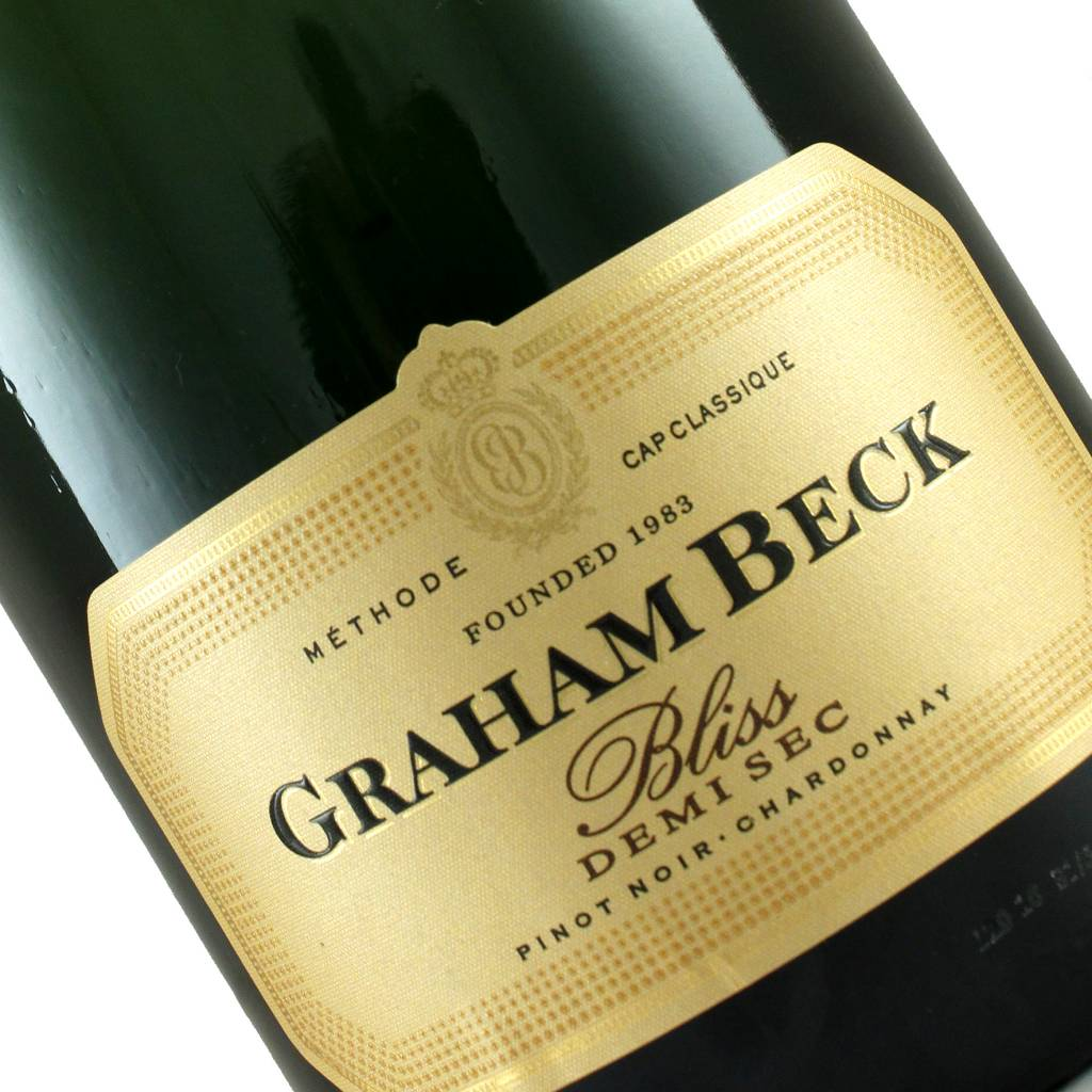 "Graham Beck ""Bliss"" Demi-Sec Sparkling Wine, South Africa"
