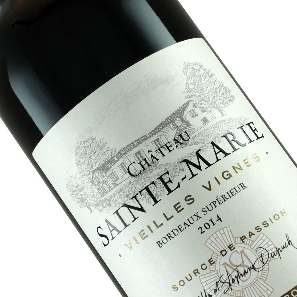 Chateau Sainte Marie 2014 Bordeaux Superieur