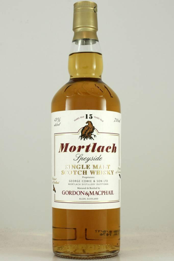 Gordon & MacPhail 15 Year Mortlach Speyside Single Malt Scotch Whisky