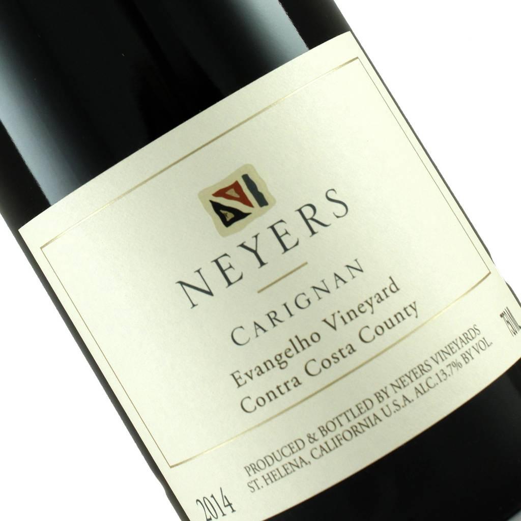 Neyers 2014 Carignan Evangelho Vineyard, Contra Costa County