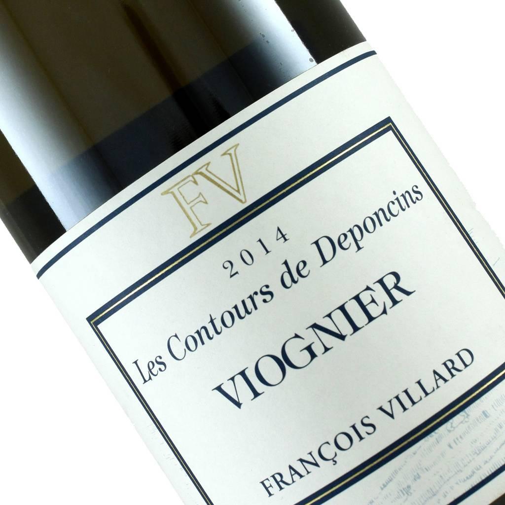 Francois Villard 2014 Viognier Les Contours de Deponcins, Rhone