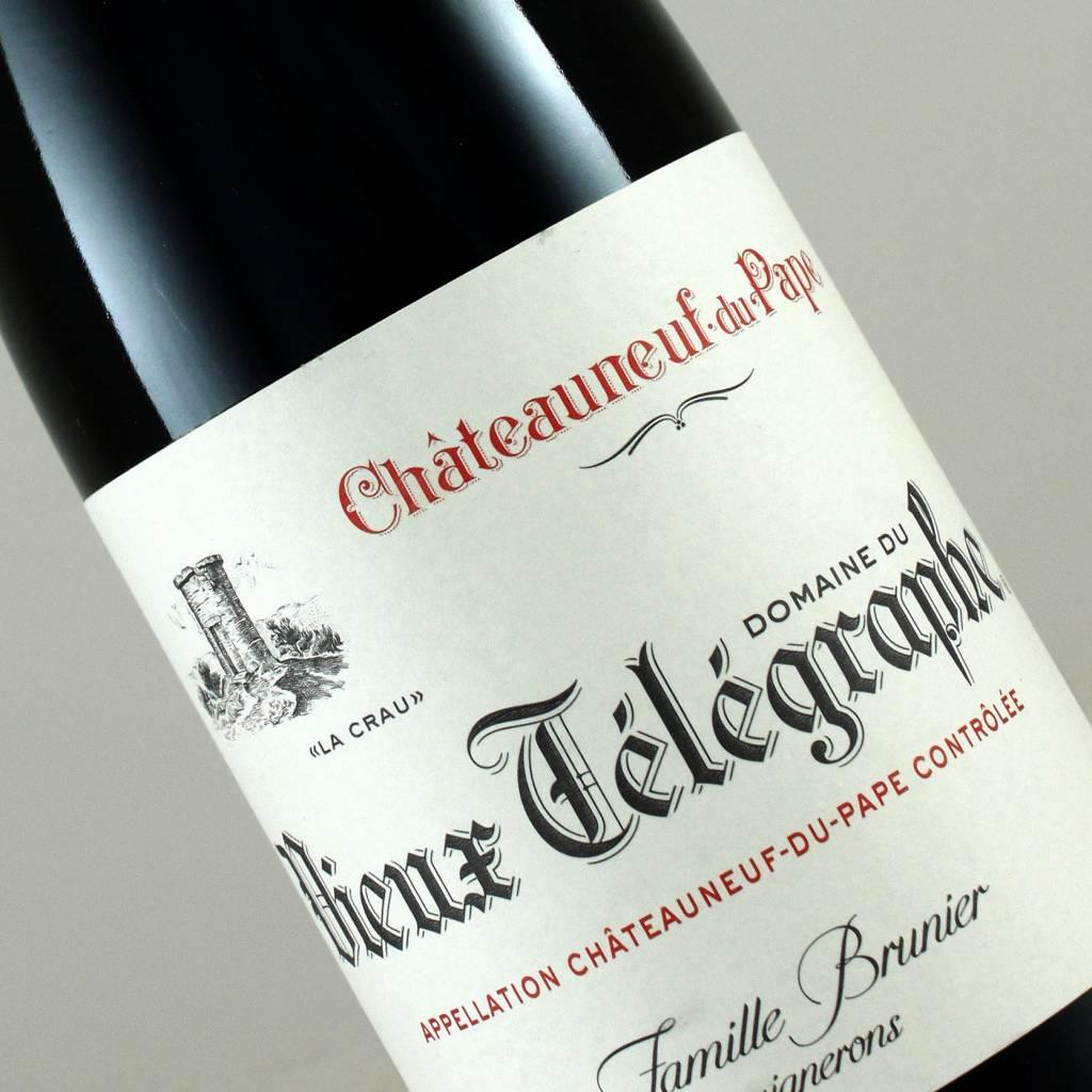 """Domaine du Vieux Telegraphe 2014 Chateauneuf du Pape """"La Crau"""" half-bottle, Rhone Valley"""