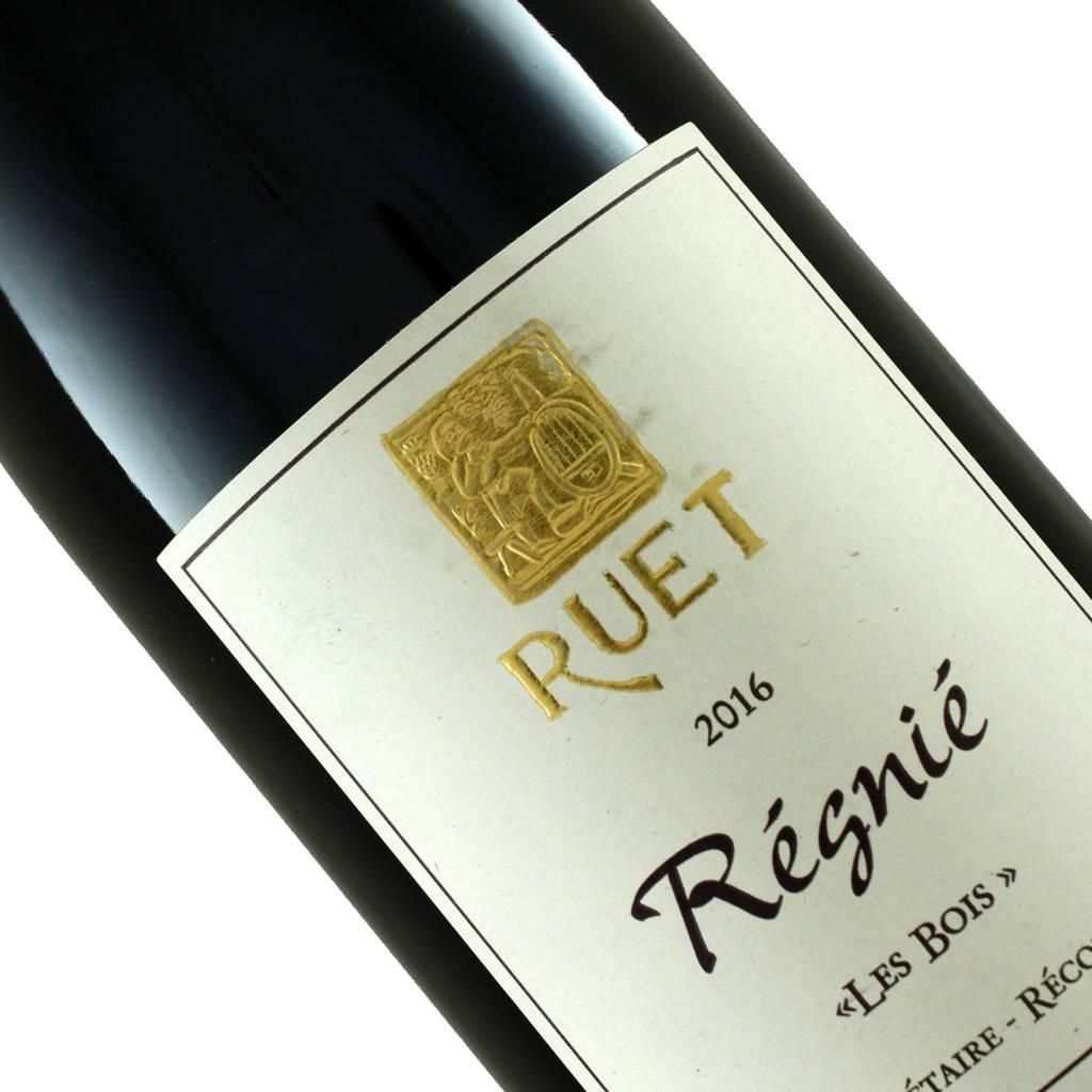 """Ruet 2016 Regnie """"Les Bois"""" Beaujolais, France"""