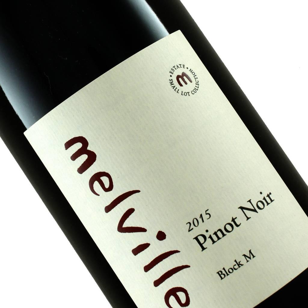 """Melville 2015 Pinot Noir """"Block M"""" Sta. Rita HIlls"""