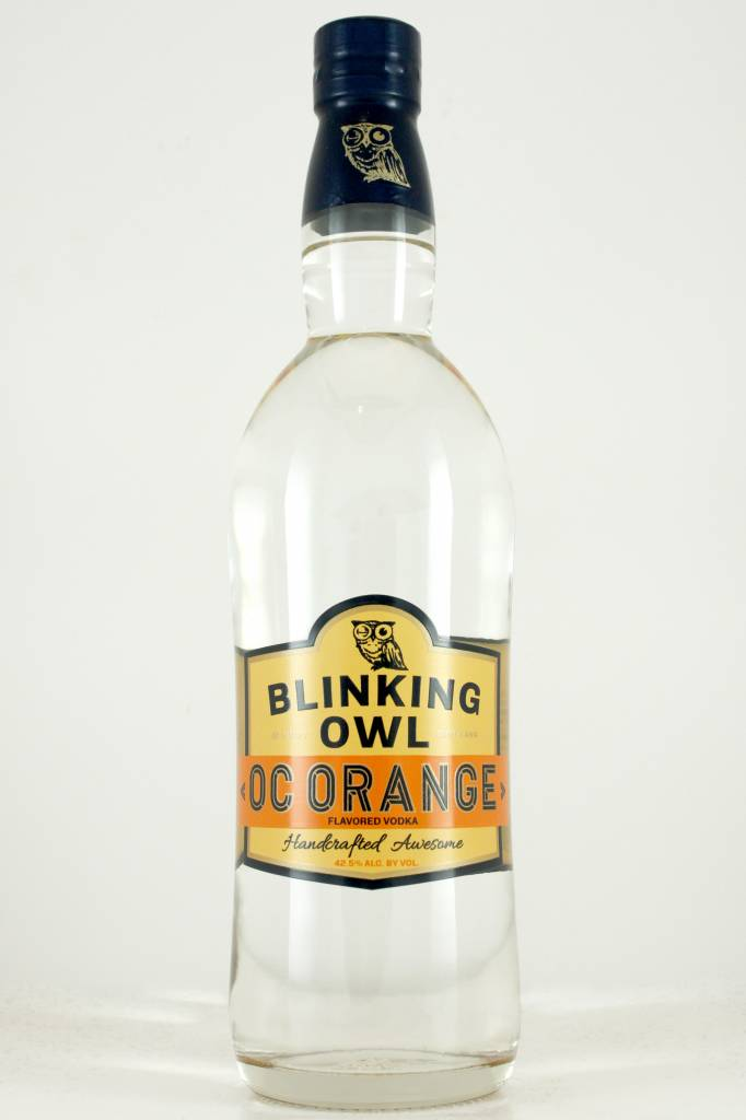 "Blinking Owl ""OC Orange"" Vodka, Handcrafted, Santa Ana"