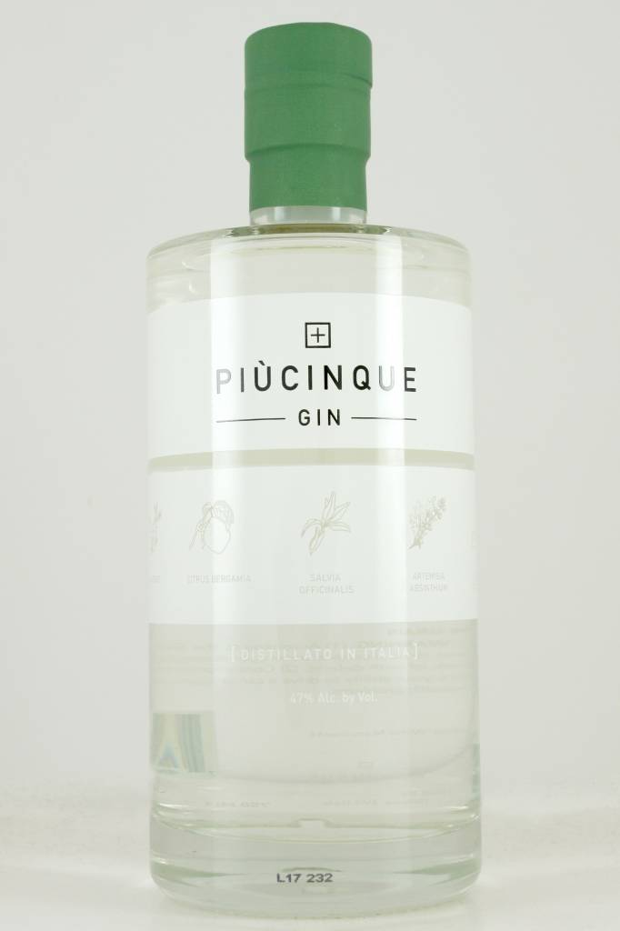 Piucinque Gin, Italy