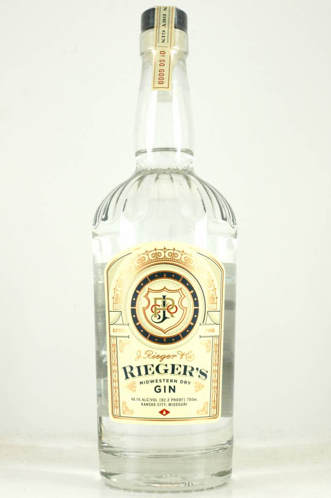 Rieger's Midwestern Dry Gin, Missouri