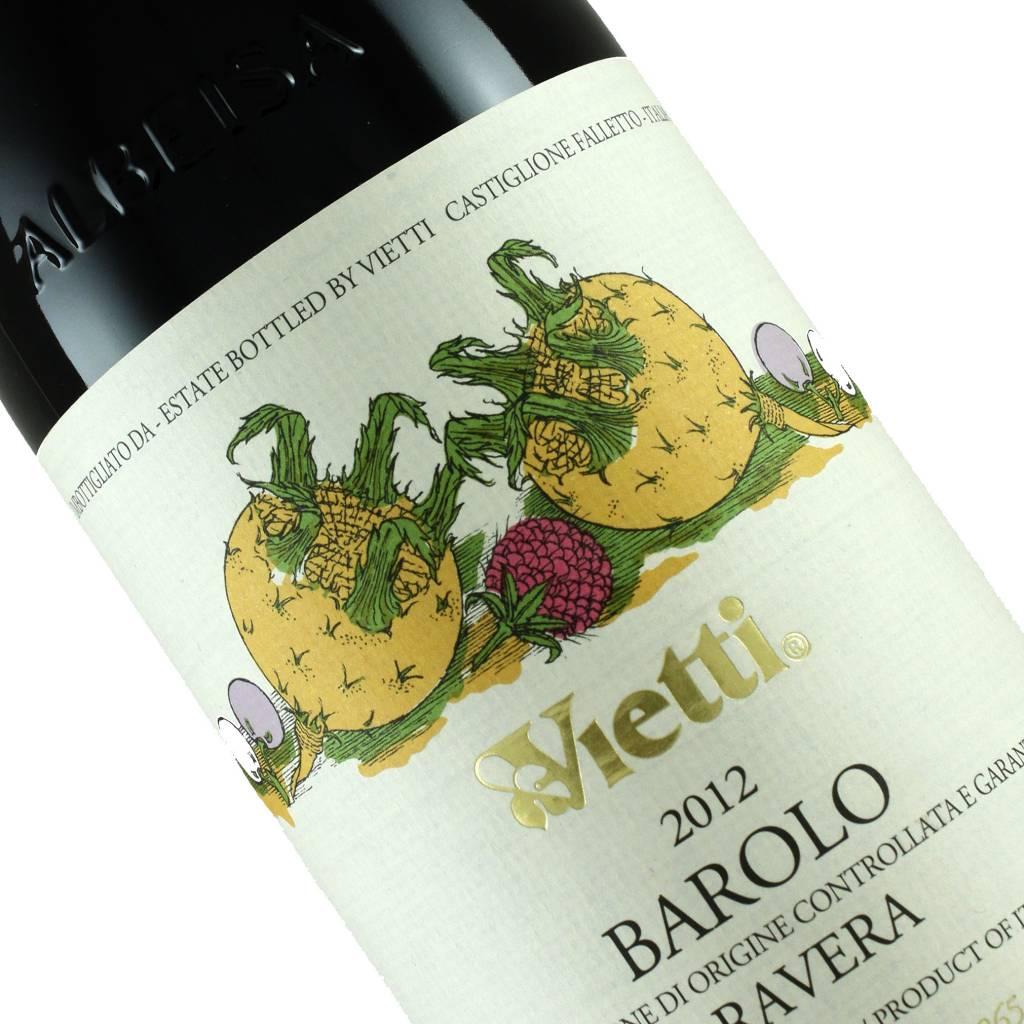 Vietti 2012 Barolo Ravera, Piedmont