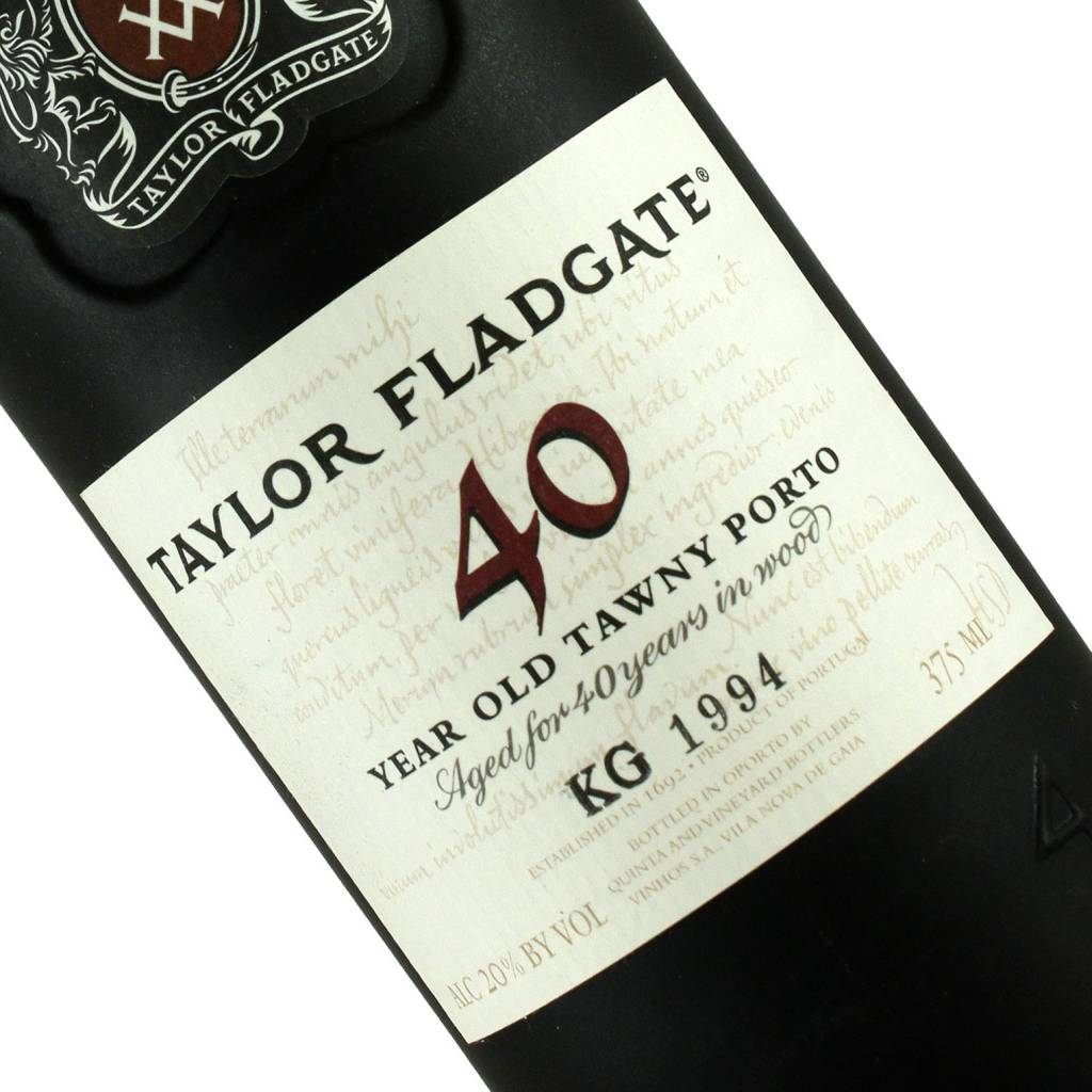Taylor Fladgate 40 Year Old Tawny Porto Half-Bottle