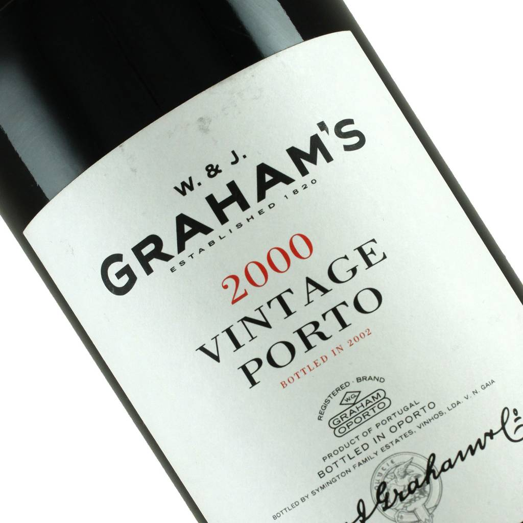 Graham's 2000 Vintage Porto, Portugal