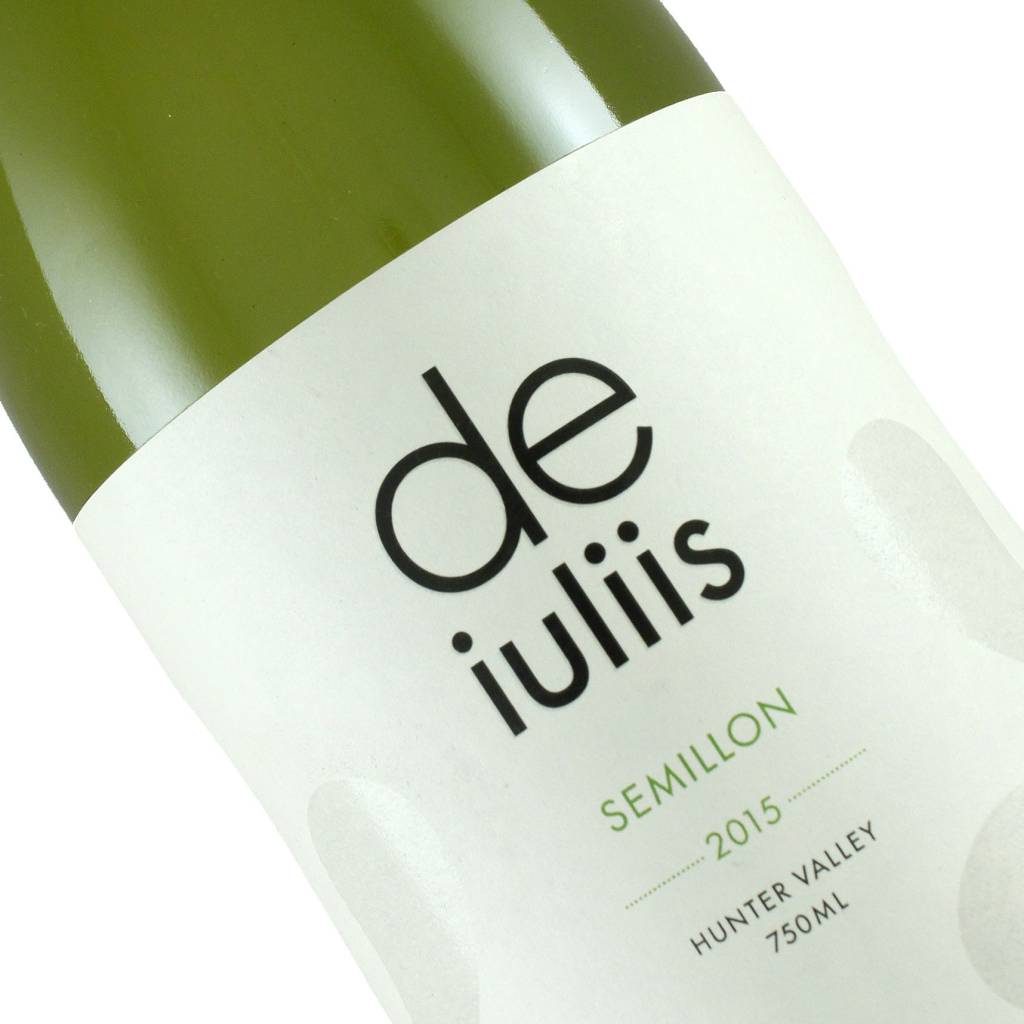 De Iuliis 2015 Semillon Hunter Valley, Australia