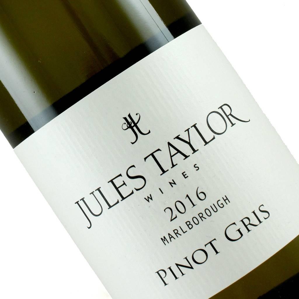 Jules Taylor 2016 Pinot Gris, Marlborough, New Zealand