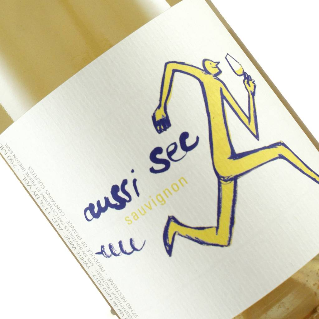 "Breton 2017 Sauvignon Blanc ""Aussi Sec"", Loire"