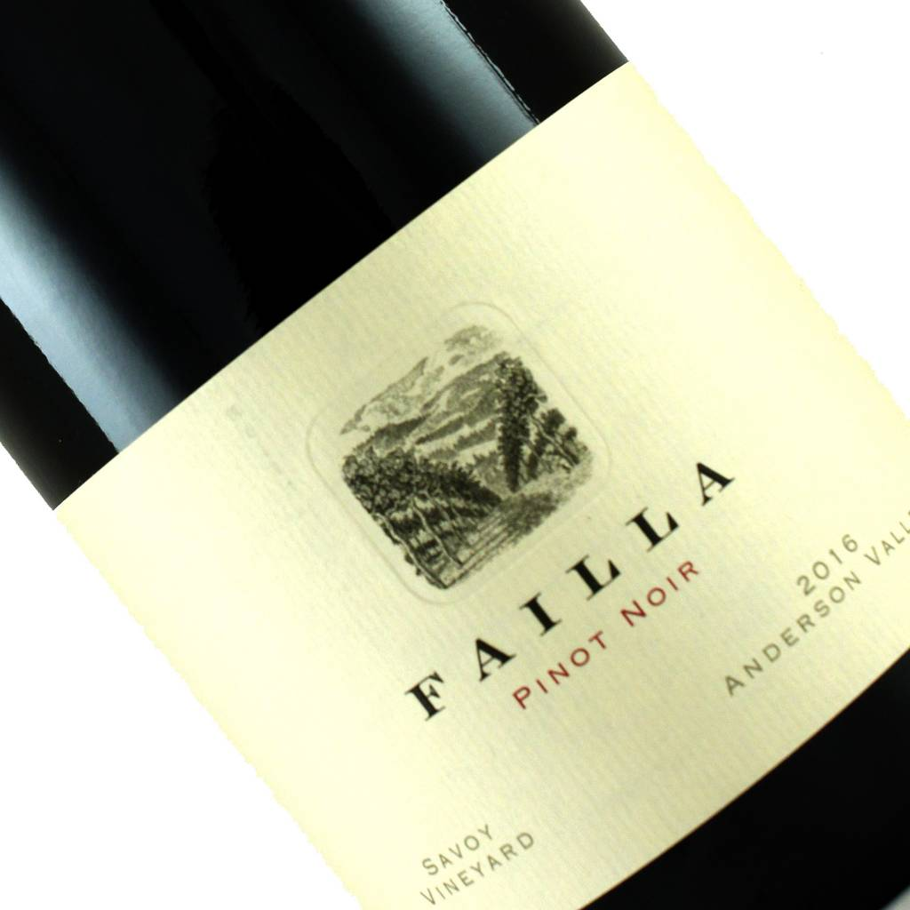 Failla 2016 Pinot Noir Savoy Vineyard, Anderson Valley