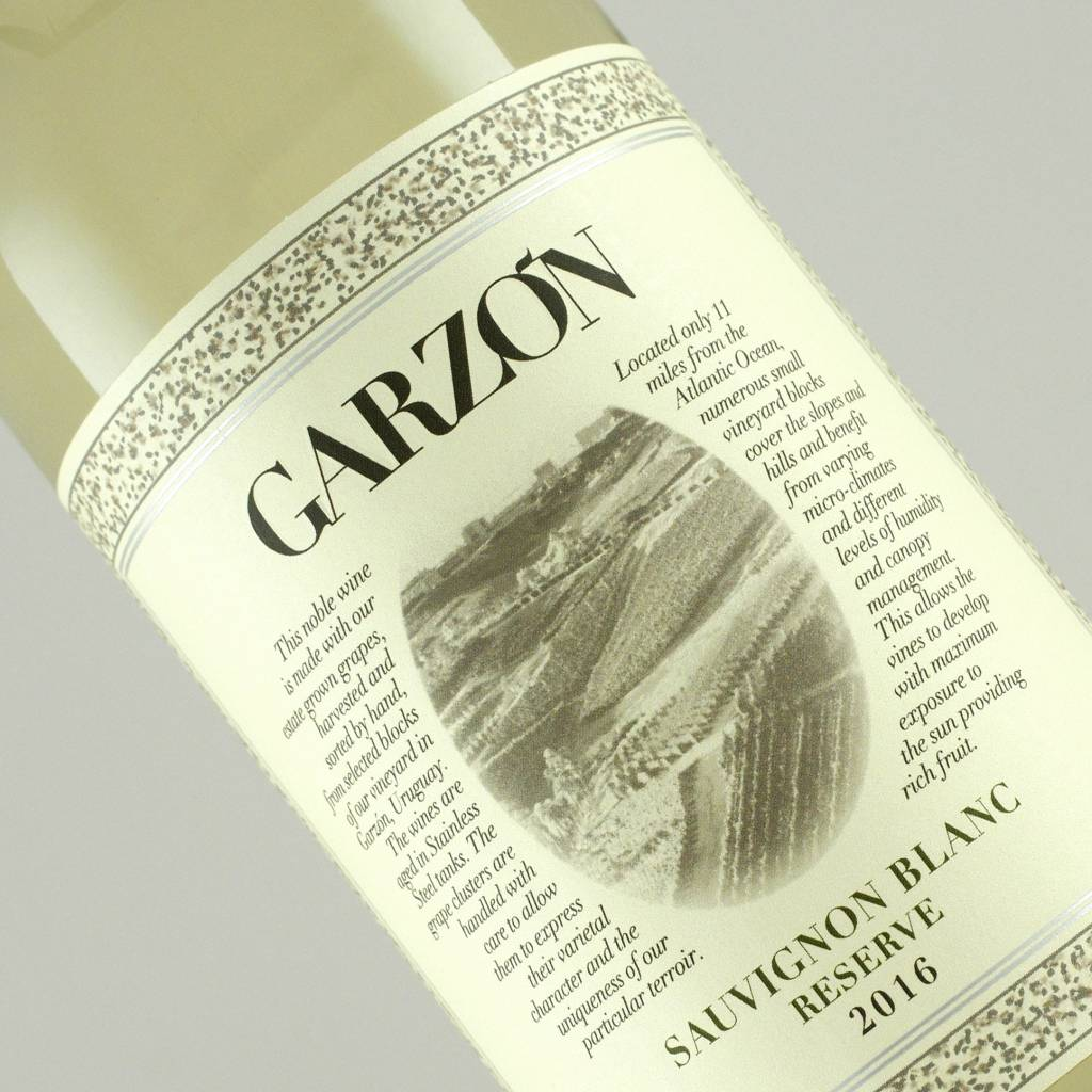 Garzon 2016 Sauvignon Blanc Reserve, Uruguay