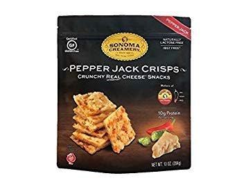 Sonoma Creamery Pepper Jack Crisps