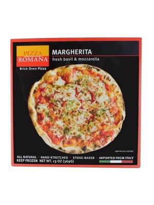 Pizza Romana Margherita Brick Oven Pizza, Marche, Italy